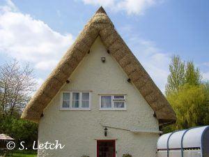 East Anglia Thatch Gable End