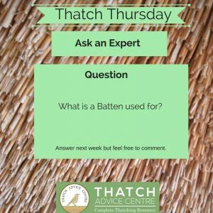 Thatch Thursdays February 2018 Question batten