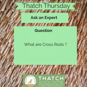 Thatch Thursday- Cross Rods