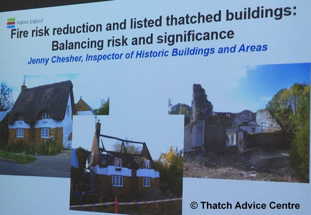 Thatch Fire Seminar Nov 18 Thatch Fire Risk Reduction Listed buildings