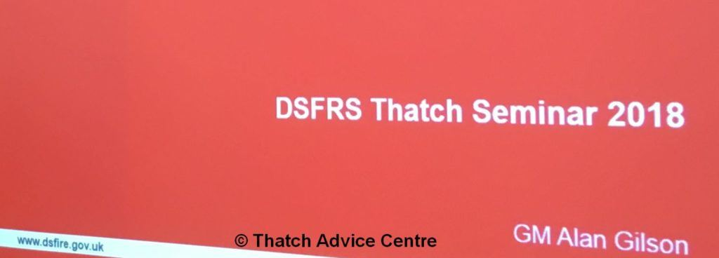 Thatch Fire Seminar Nov 18 Thatch Fire Seminar