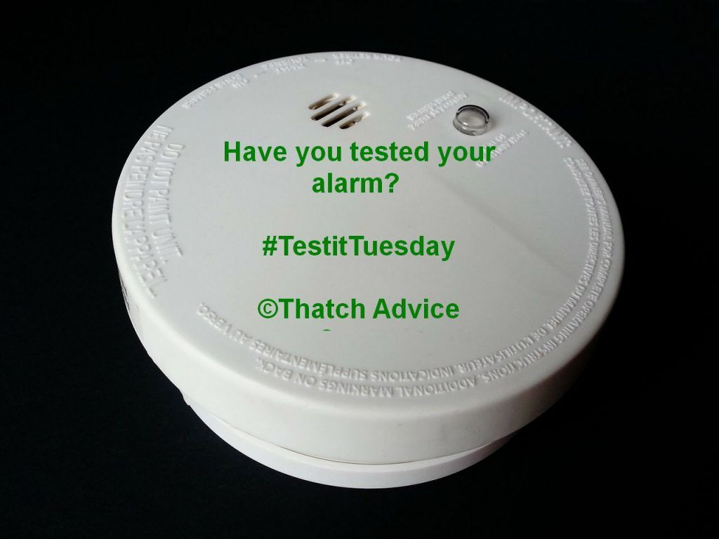 Test it Tuesday Test your alarm 1
