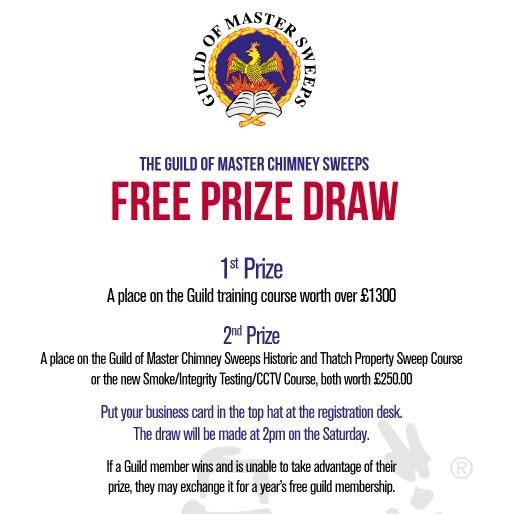 GOMCS free prize draw 2019