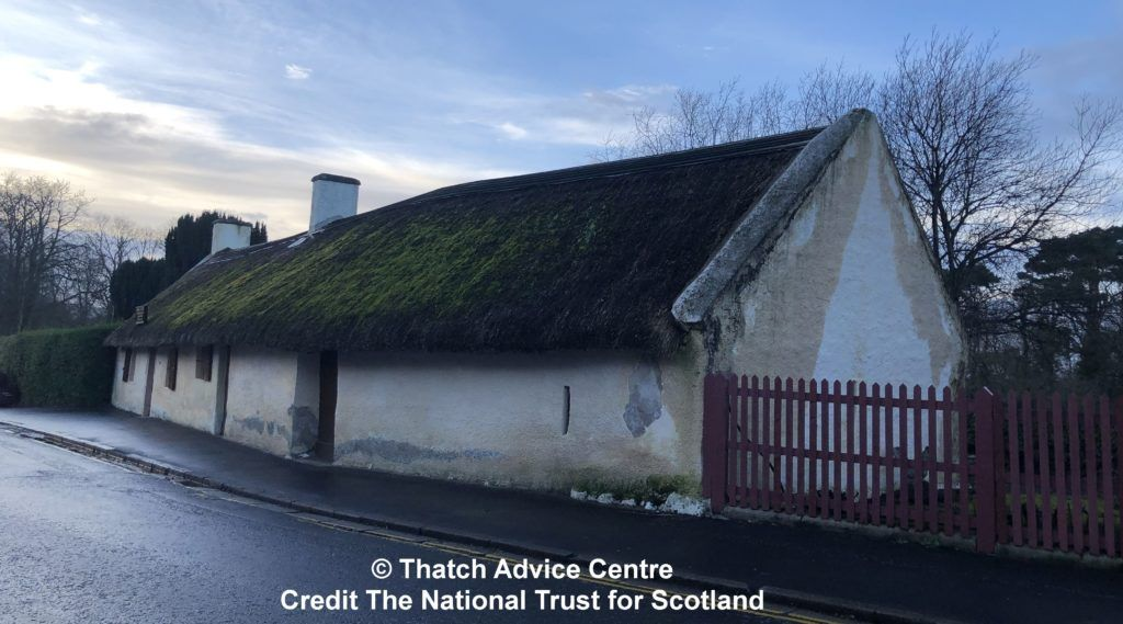C- Thatch Advice Centre 2019 - Burns Cottage Appeal front and gable