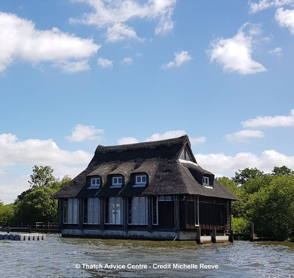 Ranworth Broad Visitor Centre View from the water