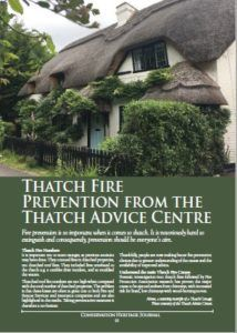 Thatch Fire Prevention Article