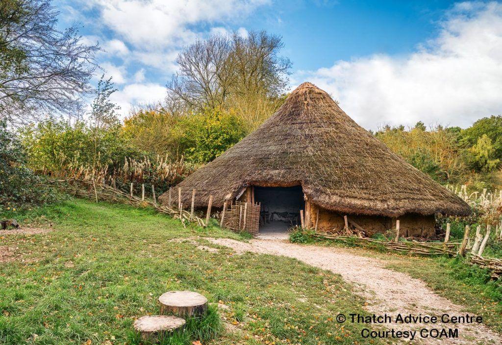Iron Age Roundhouse COAM