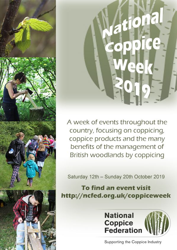 National Coppice Week 2019 Poster