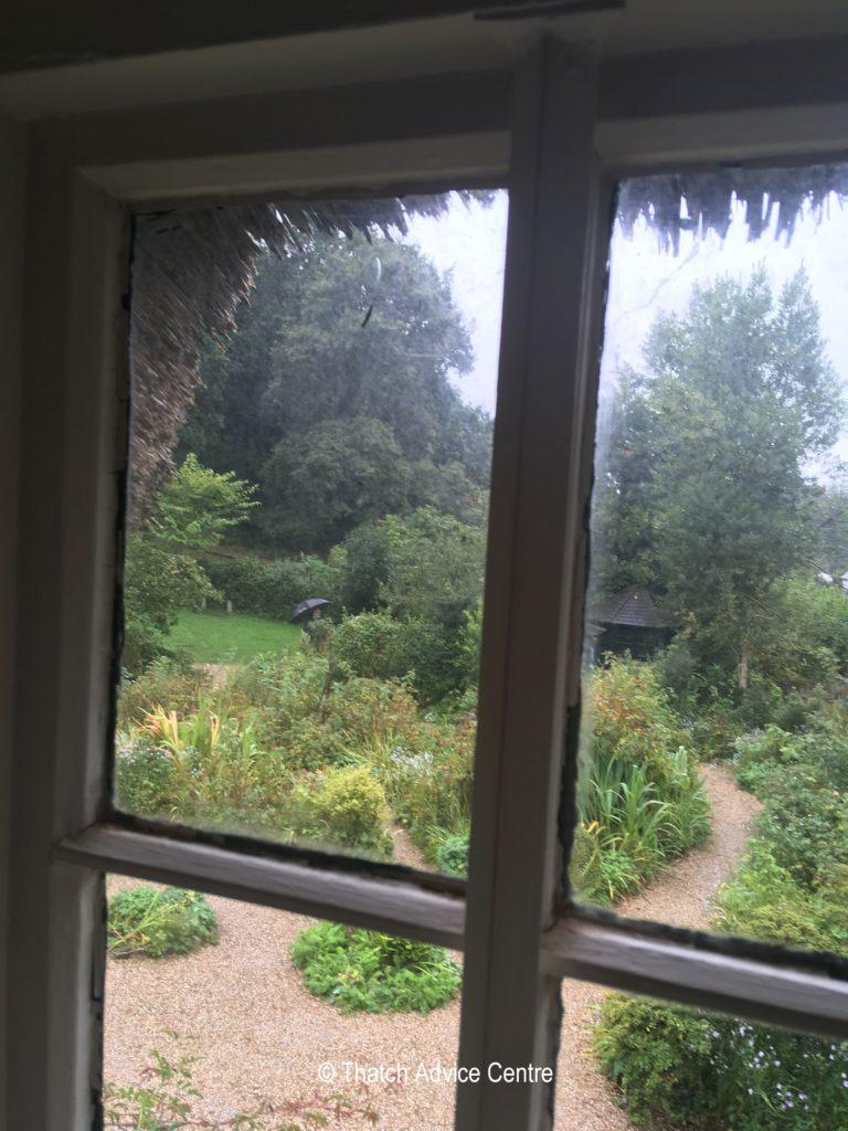 Hardly's Cottage - view from upstairs window