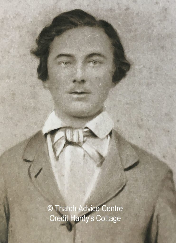 Thomas Hardy - from Hardy's Cottage