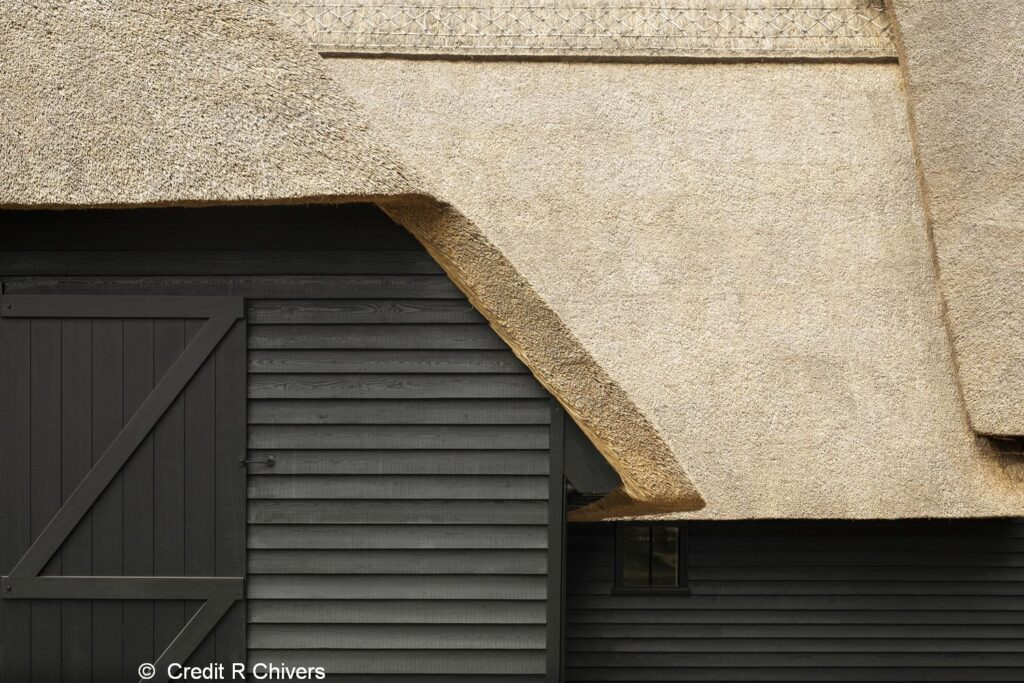 Christ Church Visitor Centre - Thatched roof detailing