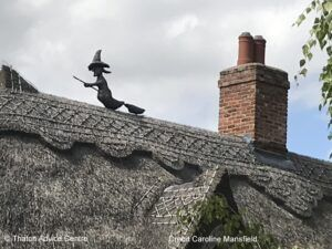 Thatch Finial Credit Caroline Mansfield witch