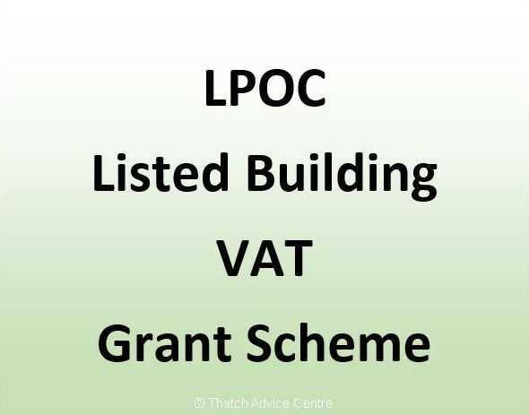 LPOC Listed Building VAT Grant Scheme