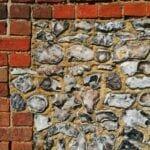 Thatch Survey brick and flint walls
