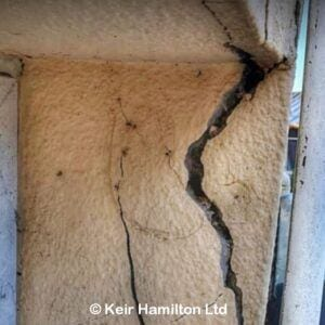 Extensive Cracking to Cob Cottage